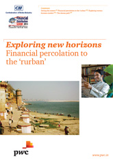 Exploring new horizons: Financial percolation to the 'rurban'