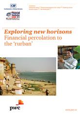 Exploring new horizons: Financial percolation to the 'rurban'