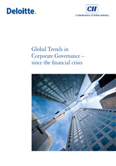 Global Trends in Corporate Governance – since the financial crisis
