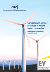 Compendium on CSR practices of Kerala based companies: Emerging role of businesses - not just for profit