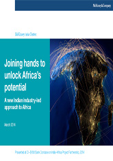 Joining Hands to Unlock Africa's Potential: A New Indian Industry-led Approach to Africa