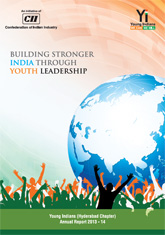 Young Indians (Hyderabad Chapter) Annual Report 2013-14