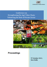 Strengthening the Agri Value Chain in India: Enhancing the Role of Private Sector