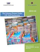 The Literacy Project Under CII-TAF Partnership  (The Asia Foundation 2013-14, New Delhi)