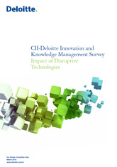CII-Deloitte Innovation and Knowledge Management Survey – Impact of Disruptive Technologies