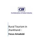 Rural Tourism in Jharkhand: Focus Amadubi