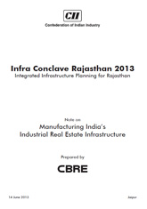 CII-CBRE Report on Manufacturing India's Industrial Real Estate Infrastructure