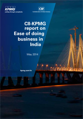 CII-KPMG report on 'Ease of Doing Business in India'