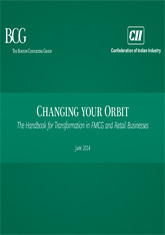 Changing Your Orbit – The Handbook for Transformation in FMCG & Retail Businesses