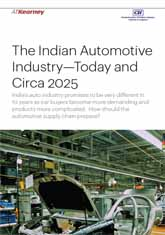 The Indian Automotive Industry - Today and Circa 2025