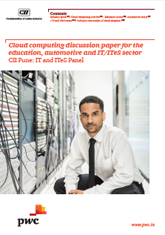 Cloud computing discussion paper for the education, automotive and IT/ITeS sector