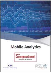Report on Mobile Analytics at Telecom Convergence Summit 2014