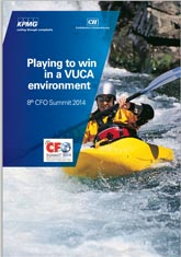 Playing to win in a VUCA environment - 8th CFO Summit 2014