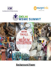 Delhi MSME Summit 2014 - Background Publication