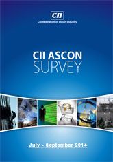 CII ASCON Survey (July-September 2014)