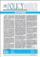 Focus Skill Development Policy Watch: December 2014