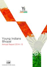 Young Indians Bhopal Annual Report 2014-15