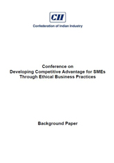 Background Publication on 'Developing Competitive Advantage for SMEs Through Ethical Business Practices'