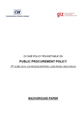 CII SME Policy Roundtable on Public Procurement Policy – A Background Document