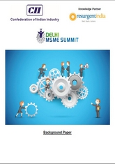 Delhi MSME Summit 2015 - Background Publication