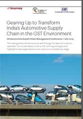 Gearing Up to Transform India's Automotive Supply Chain in the GST Environment