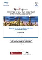 The E-15 initiative: Building Firm-level Trade Competitiveness in Emerging Economies