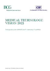 Medical Technology: Vision 2025 – A CII-BCG Report
