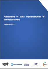 Assessment of State Implementation of Business Reforms - September 2015