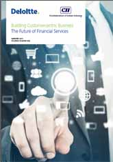Building Customercentric Business - The Future of Financial Services
