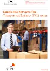 Goods and Services Tax Transport and Logistics (T&L) sector