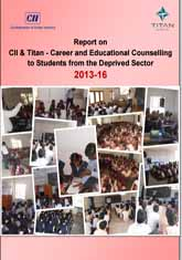 Report - CII Titan career and educational counselling to students from the deprived sector