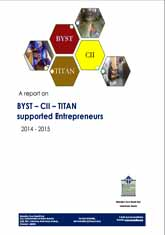 Report - CII, Titan and BYST Project on Affirmative Action – Creating and Sustaining SC/ST Entrepreneurs