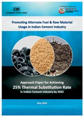 Approach Paper for Achieving 25% Thermal Substitution Rate in Indian Cement Industry by 2025