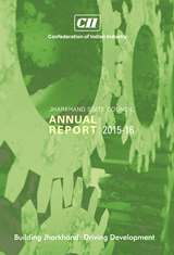 CII Jharkhand Annual Report 2015 - 16