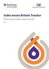 India meets Britain Tracker: The latest trends on Indian investment in the UK 2017