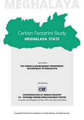 Carbon Footprint Study: Meghalaya State