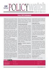 Policy Watch: Skill Development