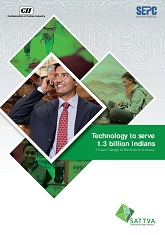 Technology to serve 1.3 billion Indians: A Game Changer in the Services Economy