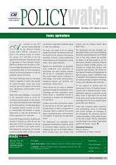 Policy Watch - Agriculture
