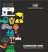 CII Coimbatore Zone Annual Report: 2017 - 18