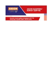 ASCON Quarterly Survey (Q3 FY18)