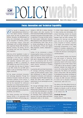 Policy Watch : Focus - Innovation & Technical Capability