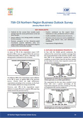 75th Northern Region Business Outlook Survey