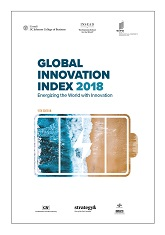 Global Innovation Index 2018 Energizing: The World With Innovation