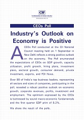 CEOs Poll: Industry's Outlook on Economy is Positive