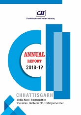 CII Chhattisgarh Annual Report - 2018-19