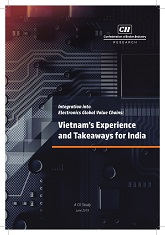 Integration into Electronics Global Value Chains: Vietnam's Experience and Takeaways for India