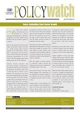 Policy Watch - Focus: Rekindling Steel Sector Growth