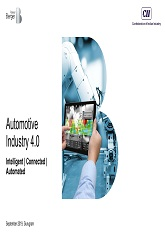 Automotive Industry 4.0 - Intelligent | Connected | Automated