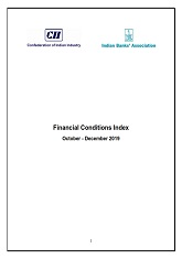 Financial Conditions Index - October - December, 2019